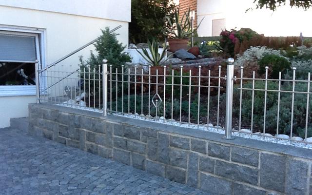Gartenzäune Edelstahl Kunstschmiede Alteneder